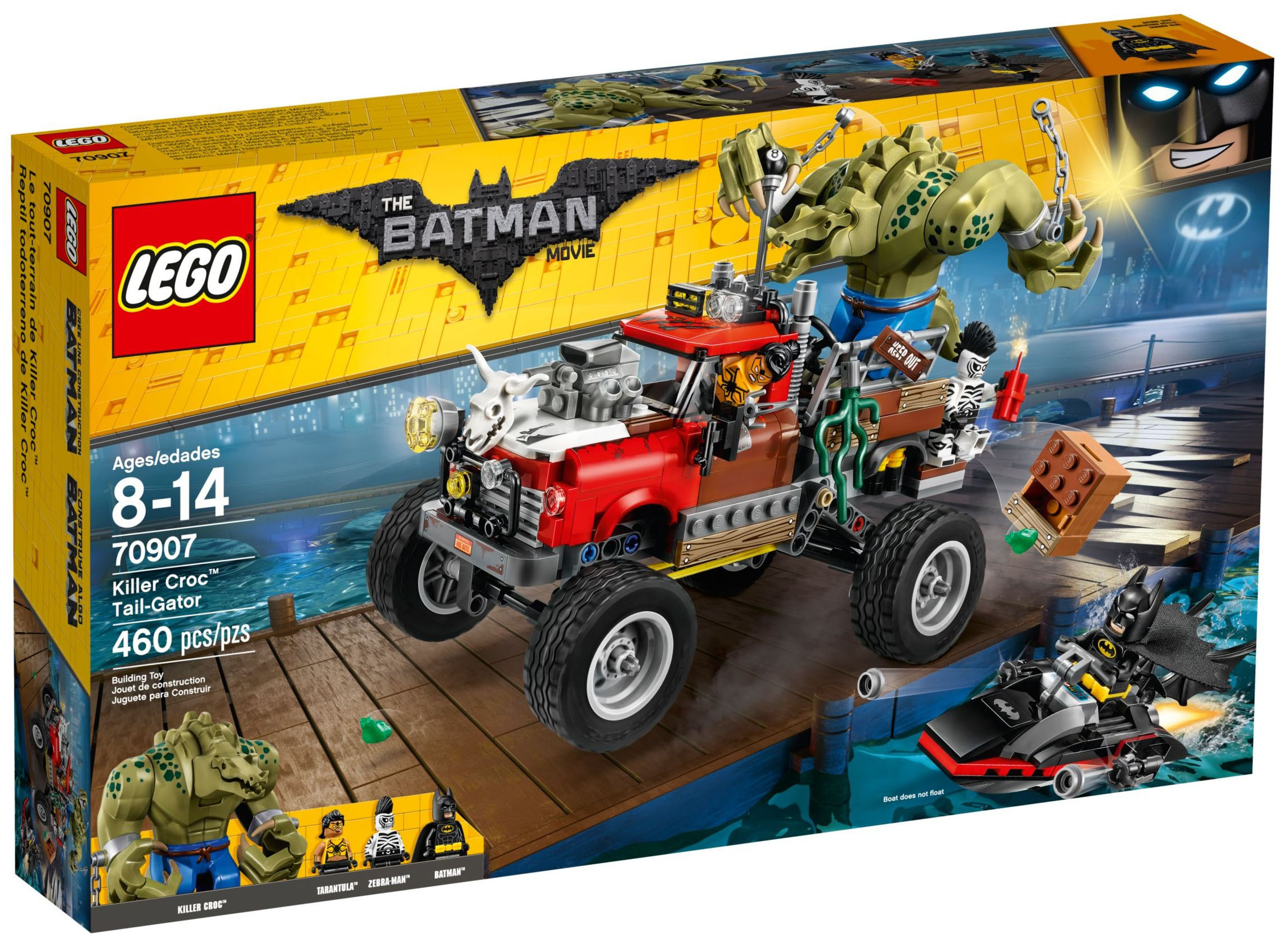 Terrain The Batman 70907 Lego Tout Croc Killer Movie De Le v80wmnN
