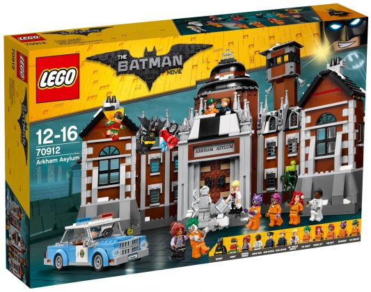 LEGO The Batman Movie 70912 L'asile d'Arkham
