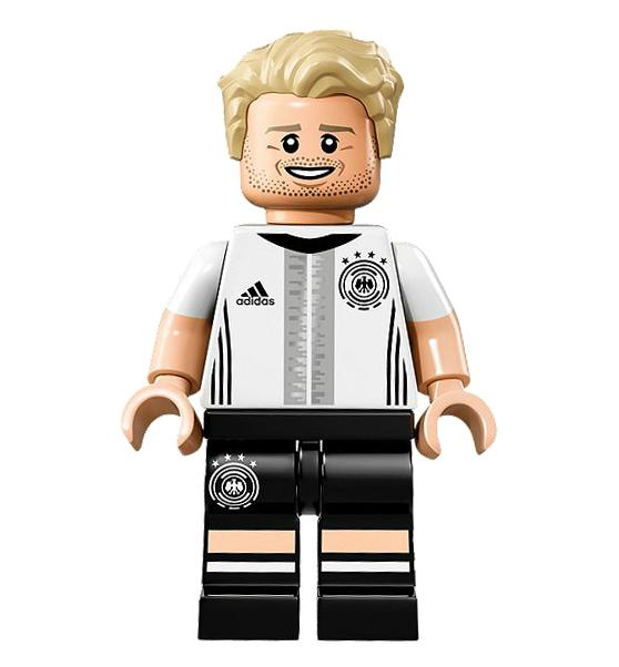 lego minifigures 71014 pas cher l 39 quipe de football d 39 allemagne la mannschaft