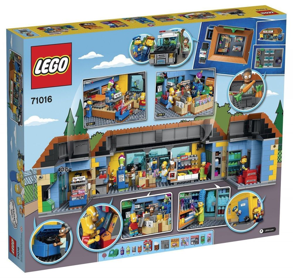 lego simpsons 71016 pas cher kwik e mart. Black Bedroom Furniture Sets. Home Design Ideas