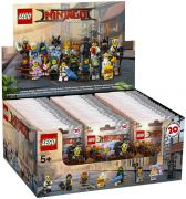 LEGO Minifigures 71019-60 The LEGO Ninjago Movie - Boîte 60 Minifigurines