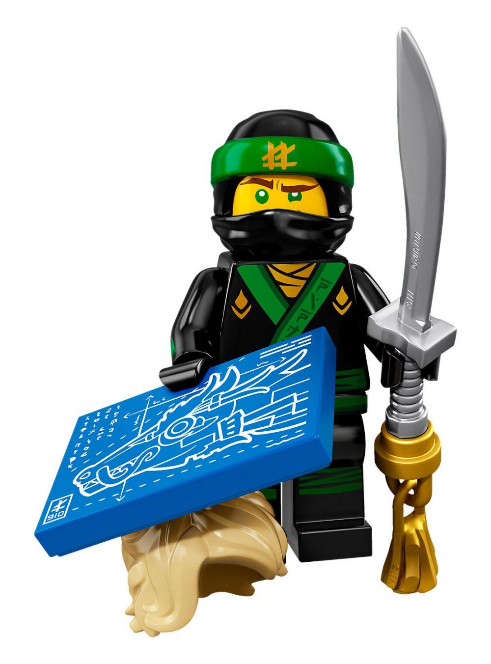 lego minifigures 71019 pas cher the lego ninjago movie. Black Bedroom Furniture Sets. Home Design Ideas