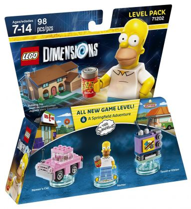 LEGO Dimensions 71202 Pack Aventure : Les Simpsons