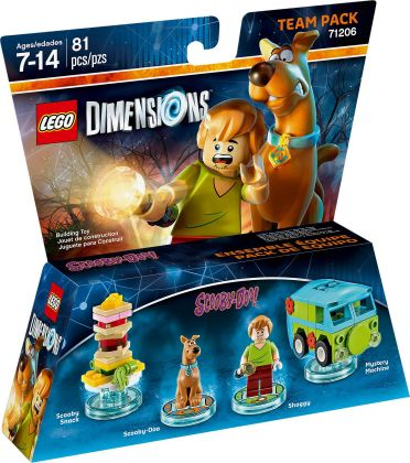 LEGO Dimensions 71206 Pack Equipe : Scooby-Doo