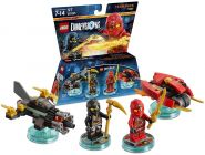 LEGO Dimensions 71207 Pack Equipe : Ninjago