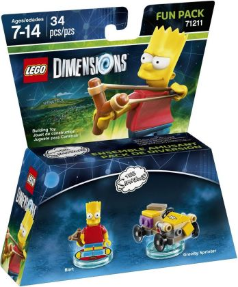 LEGO Dimensions 71211 Pack Héros : Bart Simpson