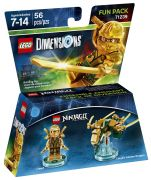 LEGO Dimensions 71239 - Pack Héros : Gold Ninja pas cher