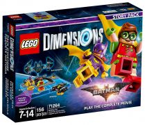 LEGO Dimensions 71264 Pack Histoire The LEGO Batman Movie: Play the complete movie