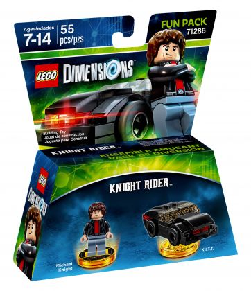 LEGO Dimensions 71286 Pack Héros Knight Rider K2000