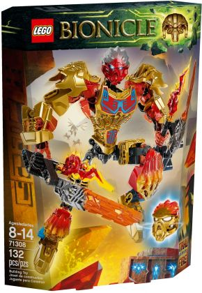 LEGO Bionicle 71308 Tahu - Unificateur du Feu