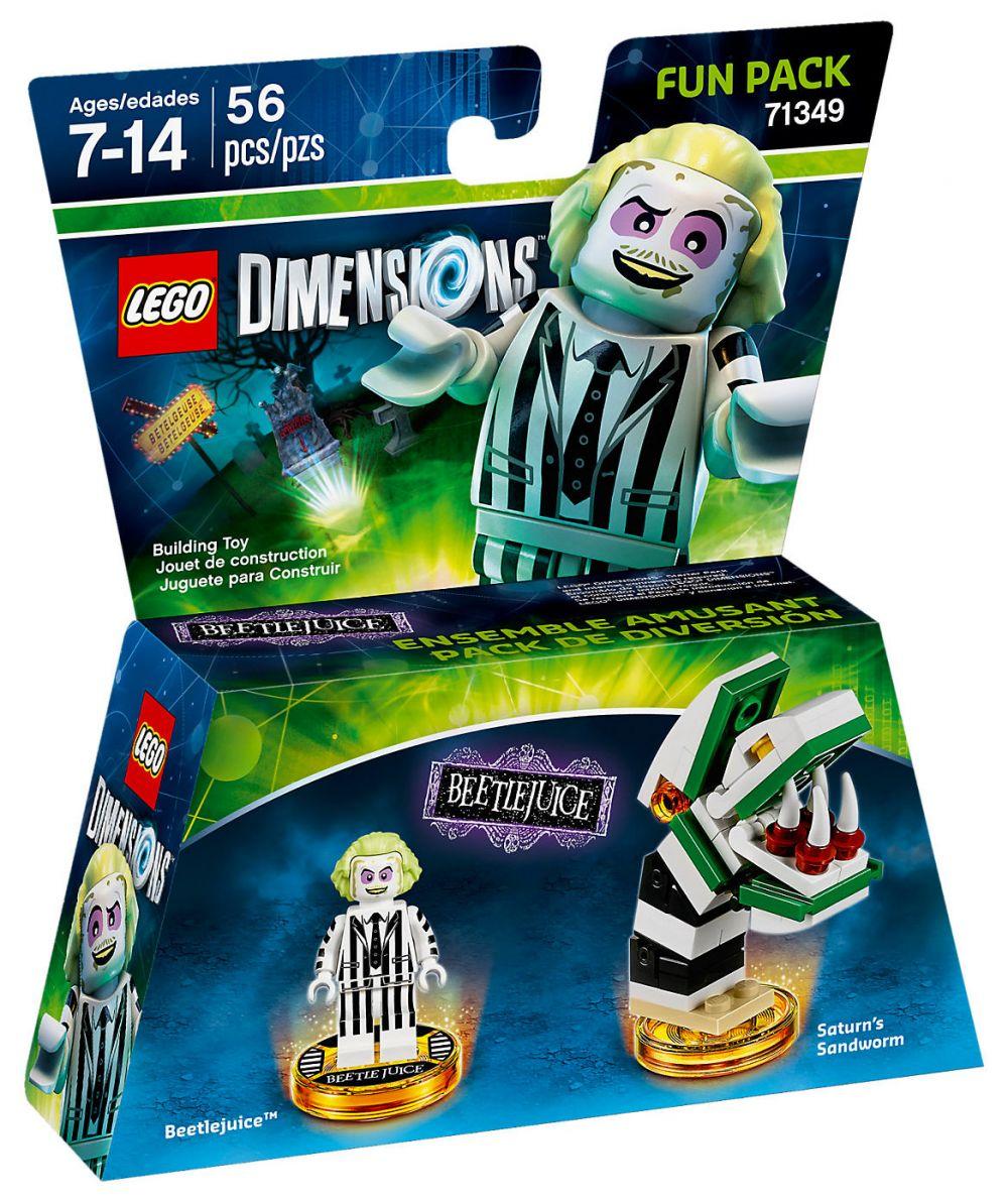 Lego Pas Héros Dimensions CherPack Beetlejuice 71349 OwNn08XPk