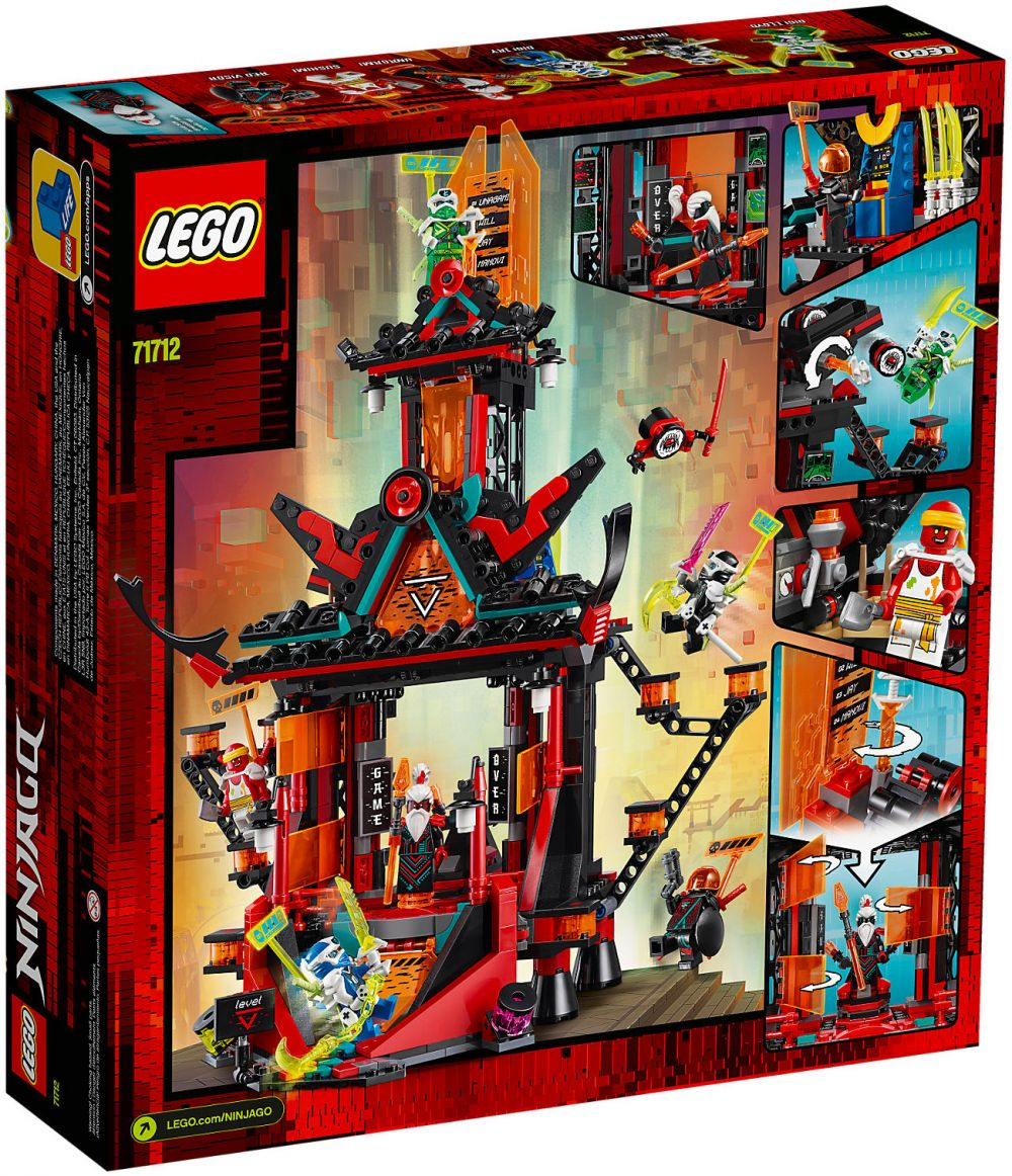 LEGO Ninjago 71712 pas cher, Le temple de la folie de l'Empire
