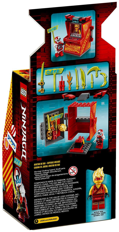 LEGO Ninjago 71714 pas cher, Kai Avatar - Arcade Pod