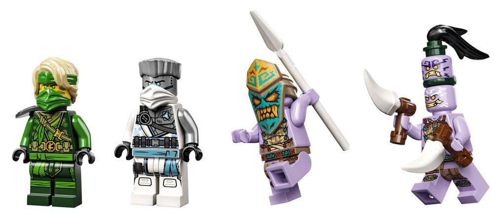 LEGO Ninjago 71746 pas cher, Jungle Dragon