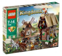 LEGO Kingdoms 7189 - L'attaque du village du moulin pas cher