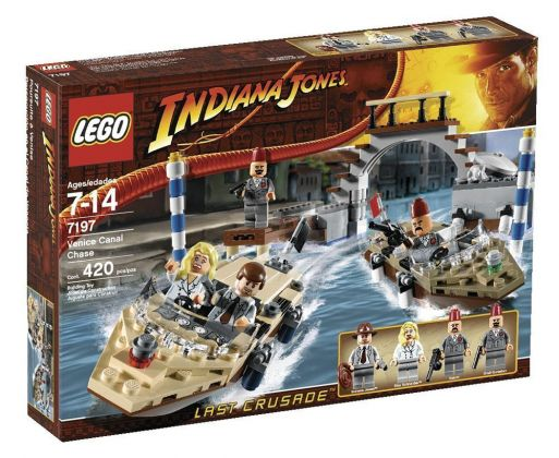 LEGO Indiana Jones 7197 Poursuite à Venise