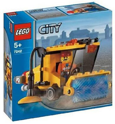 LEGO City 7242 La balayeuse