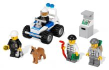 LEGO City 7279 Collection de figurines City Police