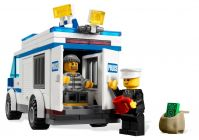 LEGO City 7286 Le transport du prisonnier