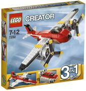 LEGO Creator 7292 L'avion à double hélices