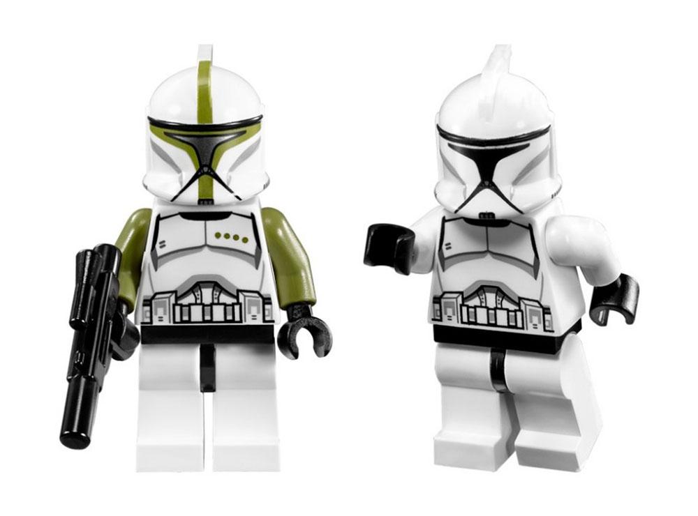 lego star wars 75000 pas cher clone troopers vs droidekas. Black Bedroom Furniture Sets. Home Design Ideas