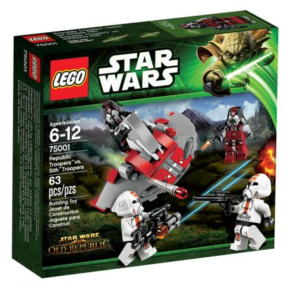 LEGO Star Wars 75001 Republic Troopers vs. Sith Troopers