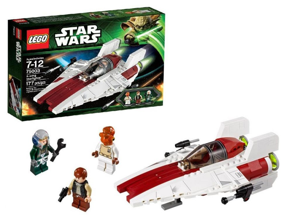 lego star wars 75003 pas cher a wing starfighter. Black Bedroom Furniture Sets. Home Design Ideas
