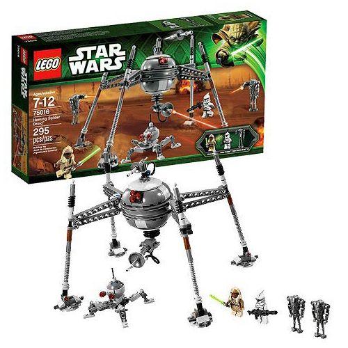 lego star wars 75016 pas cher homing spider droid. Black Bedroom Furniture Sets. Home Design Ideas