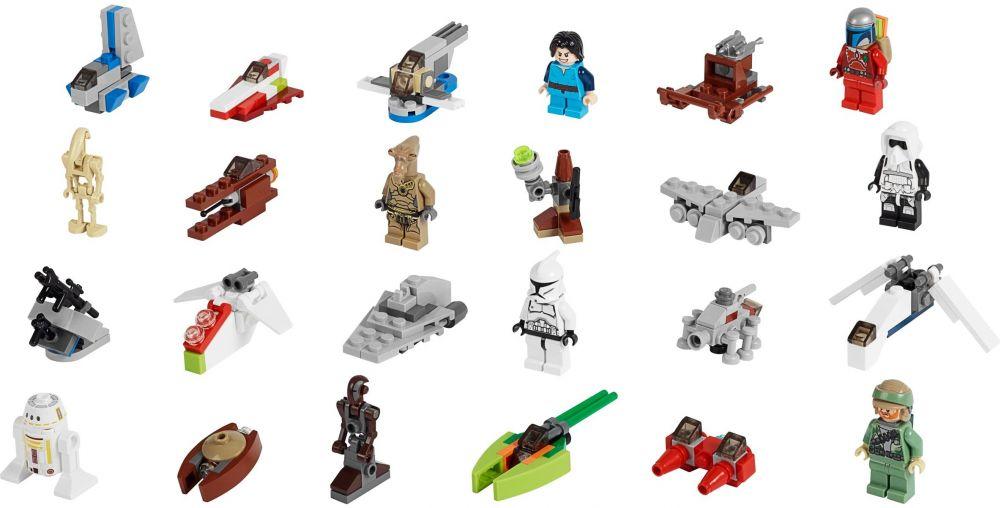 Lego saisonnier 75023 pas cher le calendrier de l 39 avent - Calendrier de l avent pas cher ...