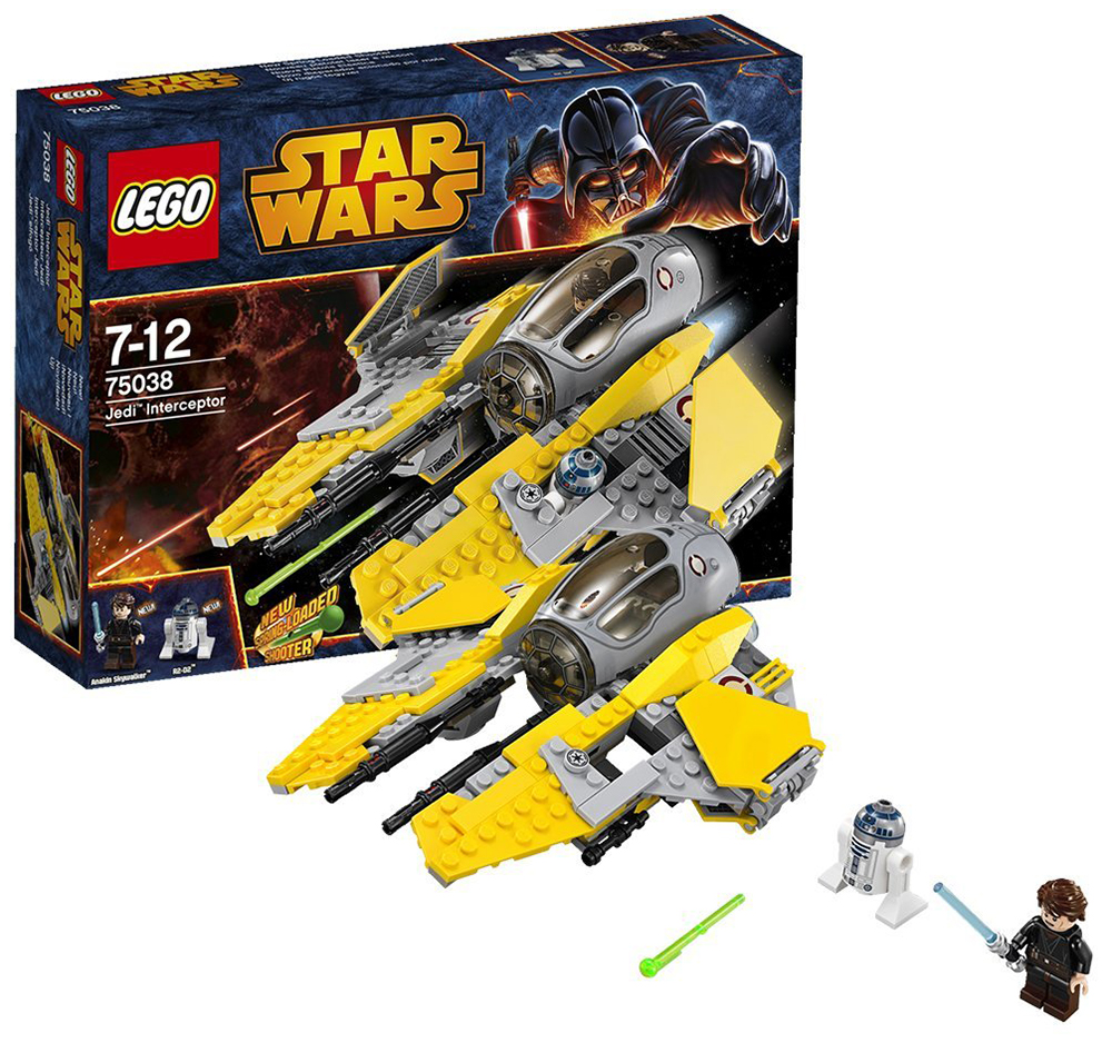 lego star wars  jedi interceptor p