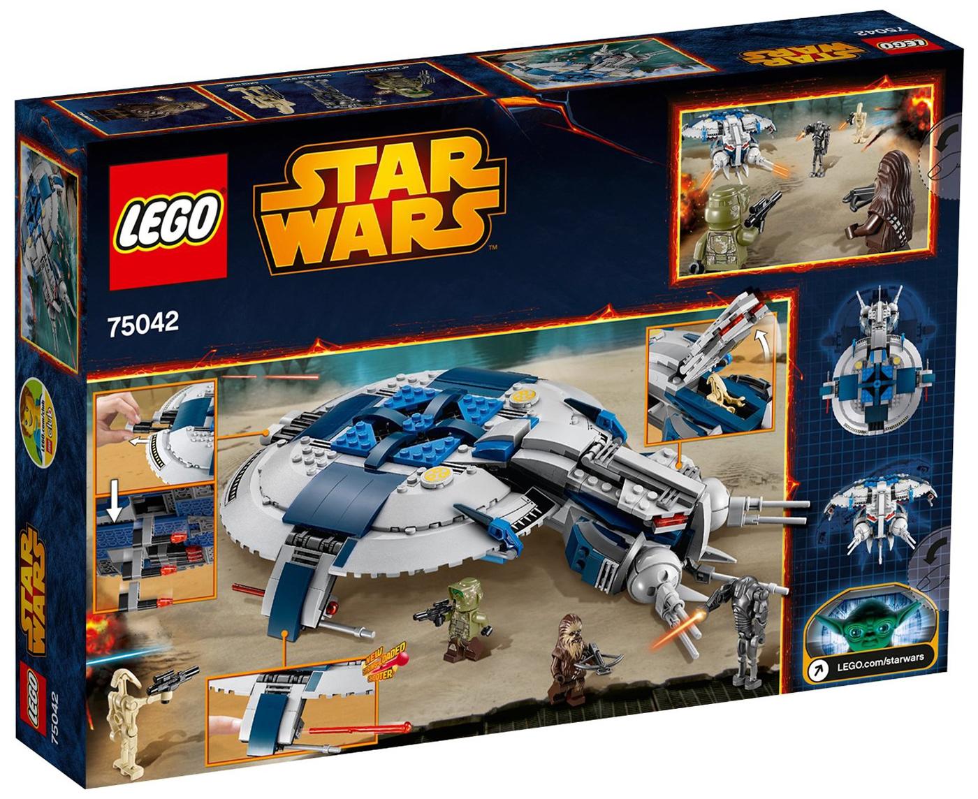 lego star wars  droid gunship p