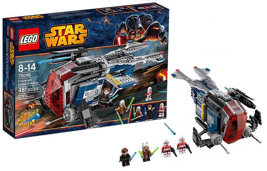 Lego star wars 75046 pas cher vaisseau de la police de for Interieur vaisseau star wars