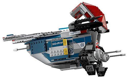 Lego star wars 75046 pas cher vaisseau de la police de - Stars wars vaisseau ...