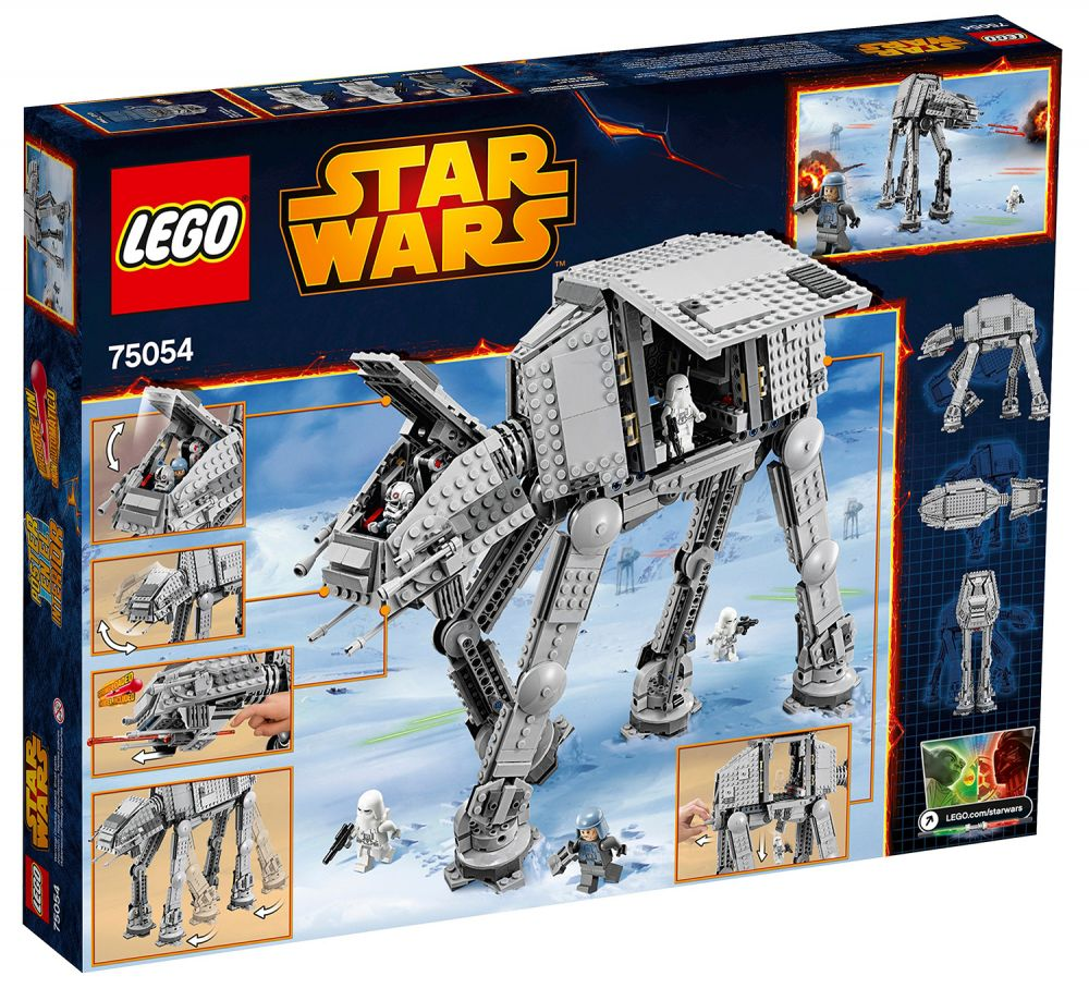 lego star wars 75054 pas cher at at. Black Bedroom Furniture Sets. Home Design Ideas