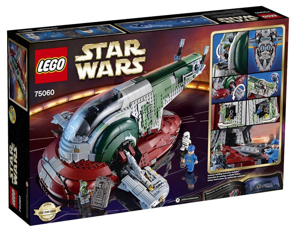 Lego star wars 75060 pas cher slave i - Croiseur interstellaire star wars lego ...