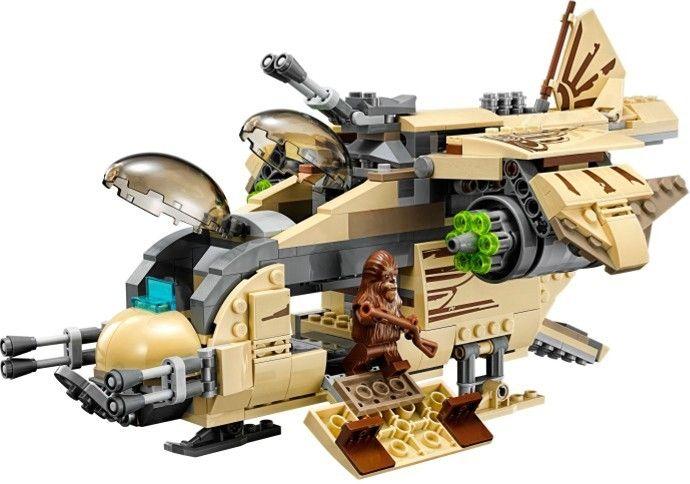 lego star wars 75084 pas cher le vaisseau de combat wookiee. Black Bedroom Furniture Sets. Home Design Ideas