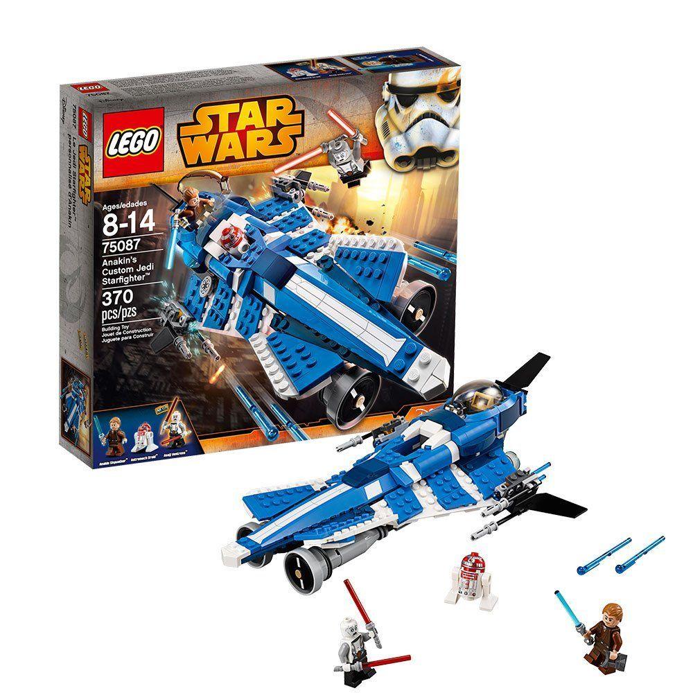Lego star wars 75087 pas cher jedi starfighter d 39 anakin - Lego star wars vaisseau anakin ...