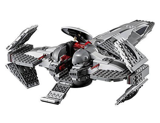 lego star wars 75096 pas cher le vaisseau infiltrator sith de dark maul. Black Bedroom Furniture Sets. Home Design Ideas
