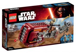 LEGO Star Wars 75099 Le Speeder de Rey