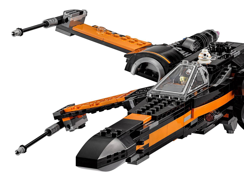 lego star wars 75102 pas cher le x wing fighter de poe. Black Bedroom Furniture Sets. Home Design Ideas
