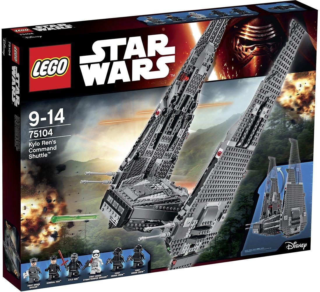 lego star wars 75104 pas cher la navette de commandement. Black Bedroom Furniture Sets. Home Design Ideas