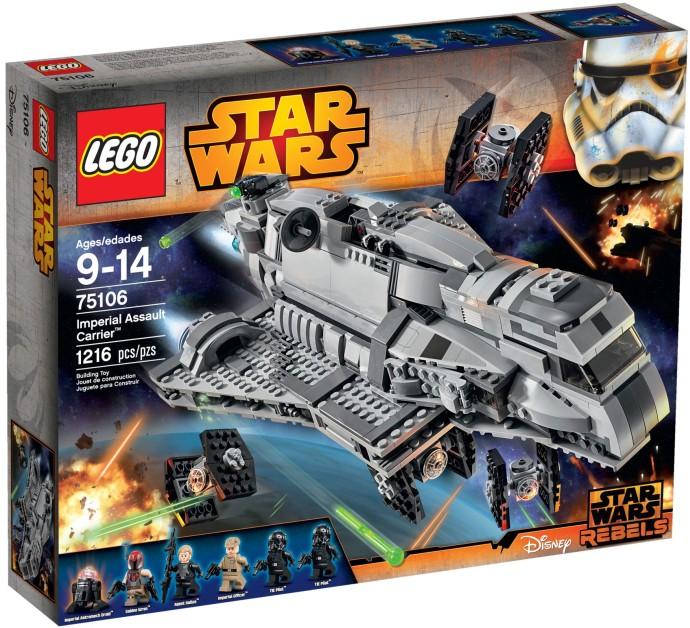 lego star wars 75106 pas cher le transporteur d 39 assaut imp rial. Black Bedroom Furniture Sets. Home Design Ideas