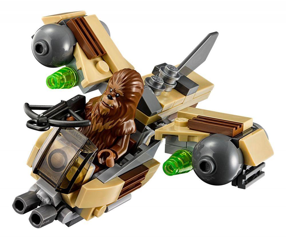 lego star wars 75129 pas cher vaisseau de combat wookiee. Black Bedroom Furniture Sets. Home Design Ideas