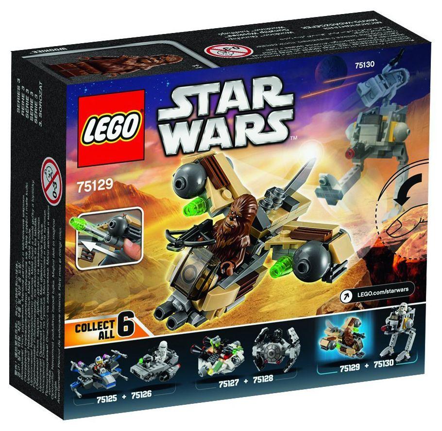 Lego star wars 75129 pas cher vaisseau de combat wookiee - Stars wars vaisseau ...