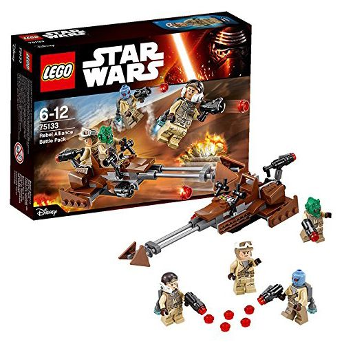 lego star wars 75133 pas cher pack de combat de l 39 alliance rebelle. Black Bedroom Furniture Sets. Home Design Ideas