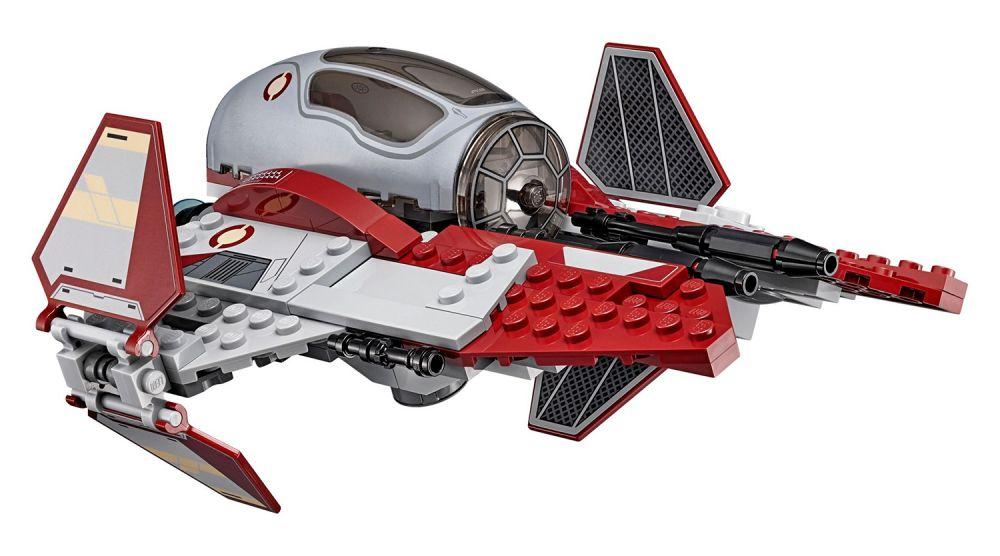 lego star wars 75135 pas cher le jedi interceptor d 39 obi wan kenobi. Black Bedroom Furniture Sets. Home Design Ideas