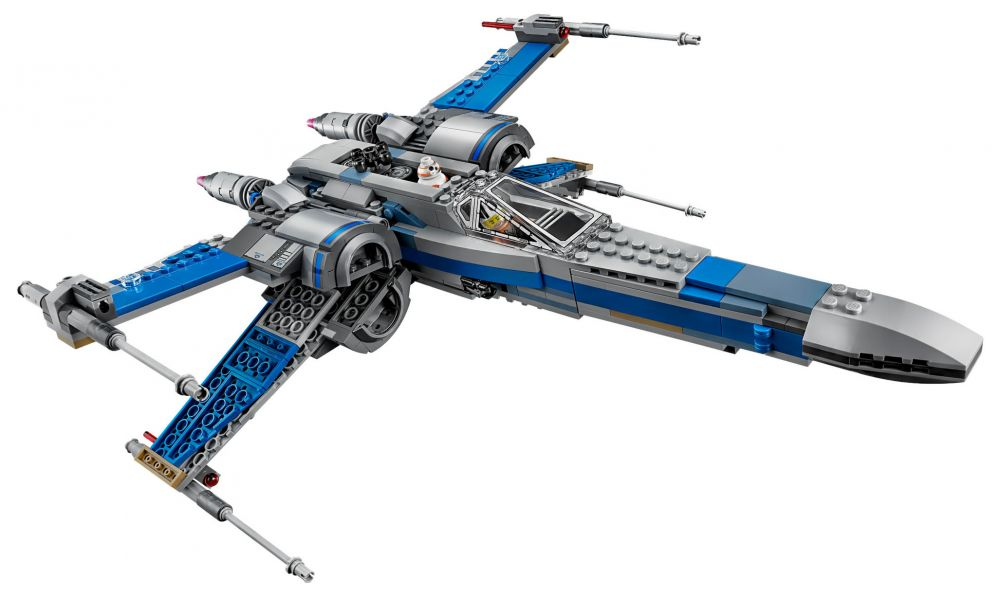lego star wars 75149 pas cher x wing fighter de la r sistance. Black Bedroom Furniture Sets. Home Design Ideas