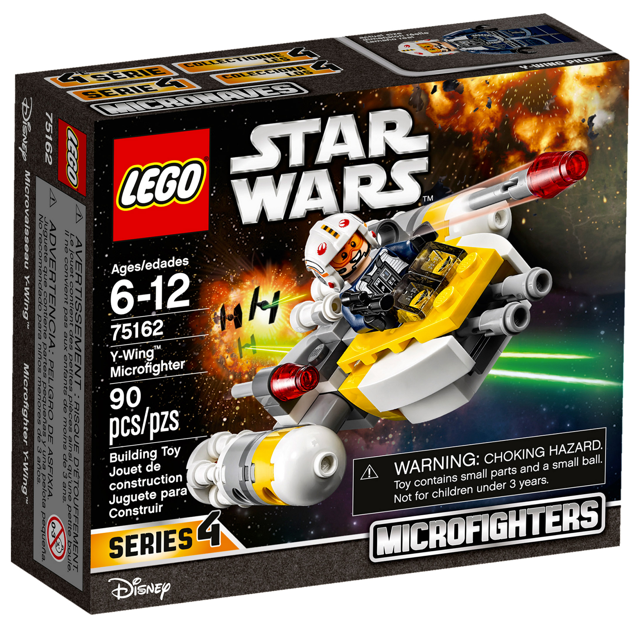 lego star wars 75162 pas cher microvaisseau y wing. Black Bedroom Furniture Sets. Home Design Ideas