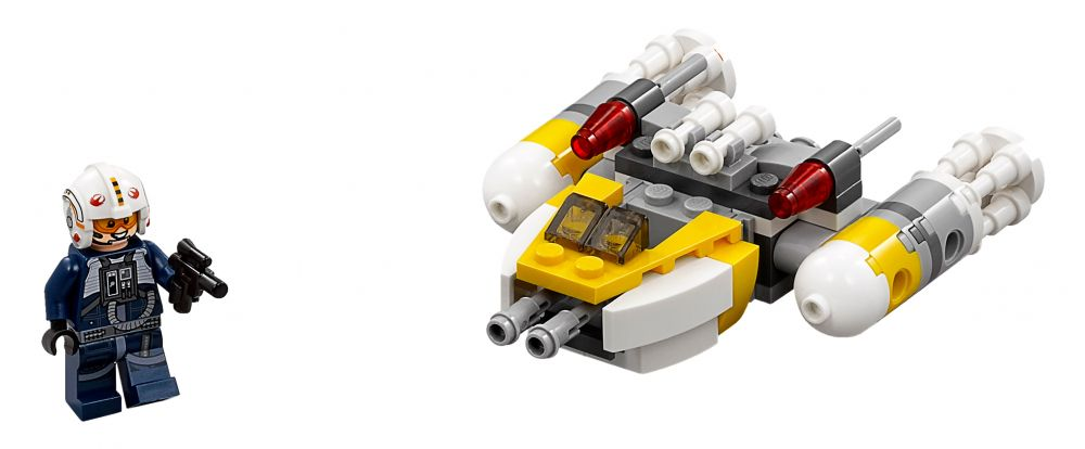 how to build a mini lego y wing