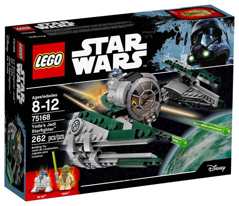 Lego star wars 75168 pas cher yoda 39 s jedi starfighter - Stars wars vaisseau ...